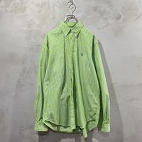 【POLO by Ralph Lauren】Button-down L/S- shirts