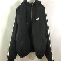 【adidas】Three stripe nylon jacket