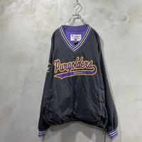 【Champion】 Front design pullover jacket
