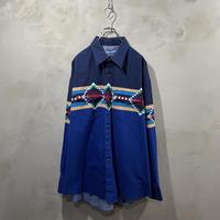 【Wrangler】design western L/S-shirts
