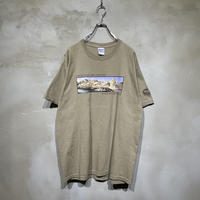 古着 風景 山脈 フォト Tシャツ