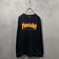 【Thrasher】Front logo  L/S-T-shirts