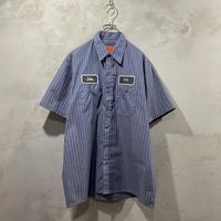 Striped design S/S-work shirts