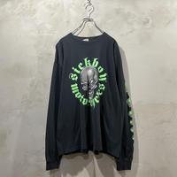 Front print L/S-T-shirts
