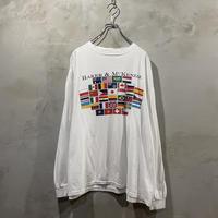 """Flag""Front logo  L/S-T-shirts"