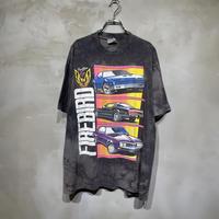古着 タイダイ Racing レーシング 車 Tシャツ
