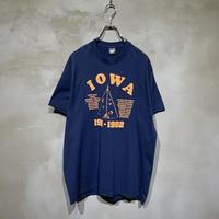 古着 IOWA アイオワ 地名 アメリカ Tシャツ