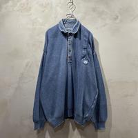 """Denim"" design cotton knit"
