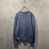 【POLO by RALPH LAUREN】One point logo knit