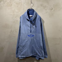 ●【Reebok】Half zip nylon jacket