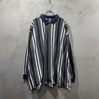 Stripe design L/S-POLO-shirts