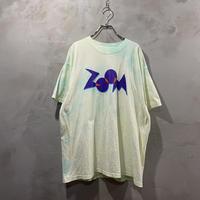 """ZOOM"" front design tie-dye T-shirts"