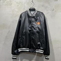 """Shell"" Front logo satin jacket"