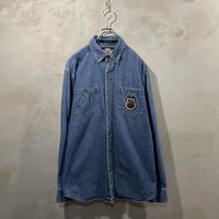 【HARLEY-DAVIDSON】Denim L/S-shirts