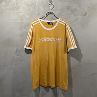 【adidas】front logo ringer T-shirts