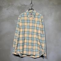 ●古着 OLD GAP ギャップ パステルカラー シンプル チェック シャツ