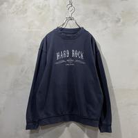 【Hard Rock】00's Front logo design sweat