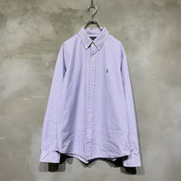 【POLO by RALPH LAUREN】front logo L/S-shirts