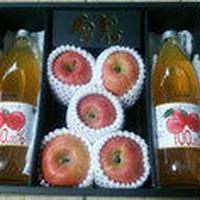 予約受付中【りんごとジュースセット】:11月下旬から12月中旬発送予定