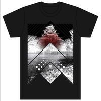 [Tシャツ]HIROSHIMA FUSION UNITE CLAC -HRSM Castle-  BLACK