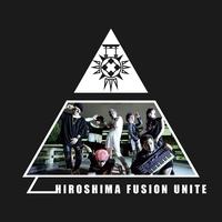 """[歌詞カード]HIROSHIMA FUSION UNITE """"ワケワカランド"""" FLYER"""
