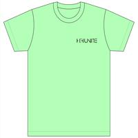 [Tシャツ]HFU -Geometry logo-  Light Green T-Shirts