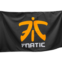 Fnatic ロゴサポーターバナー