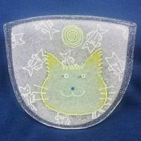 【水吉郁子】顔のお皿 516(19001-516)