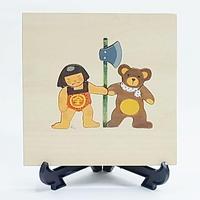【アトリエ28】金太郎&小熊のミニボード(61022)