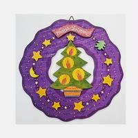 【アトリエ28】クリスマスリース・ひかりのクリスマスリース