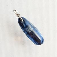 【ヒマラヤの青い石】カイヤナイトヒーリングペンダント No.16(860-15-16)