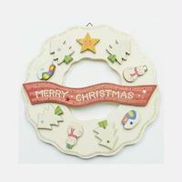【アトリエ28】クリスマスリース・ホワイトクリスマスのリース