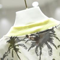 花柄 デザイン ジャケット ショート 日焼け止め 0066
