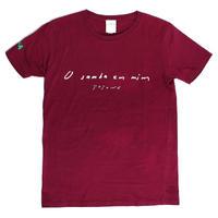 【レディース  Tシャツ】TOYONO 黒髪のサンバ  x  toriMoiA  コラボ  T-Shirts / Burgundy