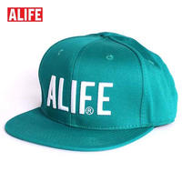 【62699-GRN】ALIFE NYC[エーライフ] TERROR SNAPBACK CAP スナップバックキャップ GREEN/グリーン
