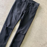 TAKAHIRO MIYASHITA The Soloist - stretch slim tapered knee slit 6pocket jean.