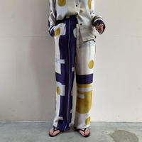 VillD - Yin-yong print pants