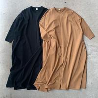 ELIN - Jersey mantle line dress