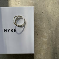 HYKE - DOUBLE EAR CUFF SMALL SILVER