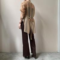 PHEENY - Wrinkle organdie dress shirt