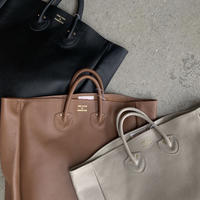 YOUNG&OLSEN - EMBOSSED LEATHER TOTE L