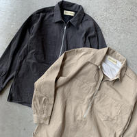 YSTRDY'S TMRRW - PRAIRIE HZ SHIRT SUN DRIED COTTON KATSURAGI