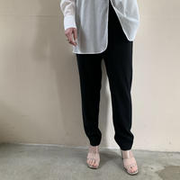 HYKE - STRETCH TAPERED PANTS