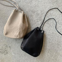 hobo - HORSE LEATHER DRAWSTRING BAG