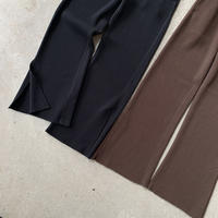 PHEENY - T/C Big waffle side slit pants