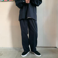 YSTRDY'S TMRRW - MIX BROAD STRIPE 2TUCK SLACKS