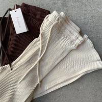 babaco - Cotton Ribbed Pants