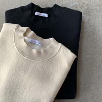 PHEENY - Double face crew neck knit