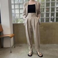 VillD - Linen tweed pants