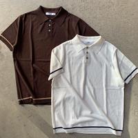 FUJITO - Line Knit Polo